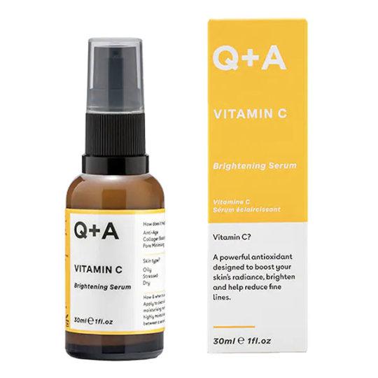 Сыворотка для сияния кожи с витамином C Q+A Vitamin C Brightening Serum