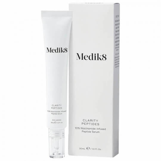Пептидная сыворотка с 10% ниацинамидом Medik8 Clarity Peptides